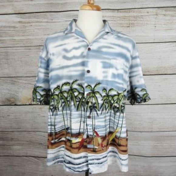 Honu Of Hawaii Other - Honu Of Hawaii XXL Hawaiian Shirt - 2511 G-F2